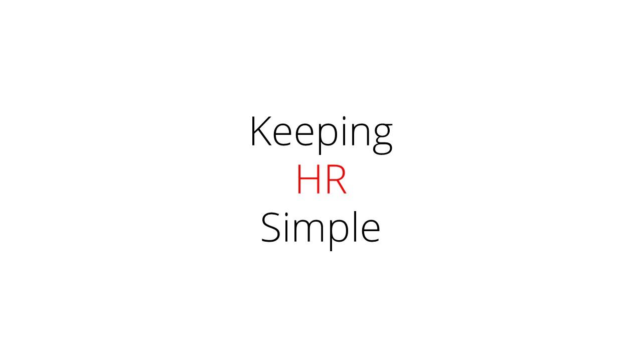 Jason Duff – Director – Keeping HR Simple